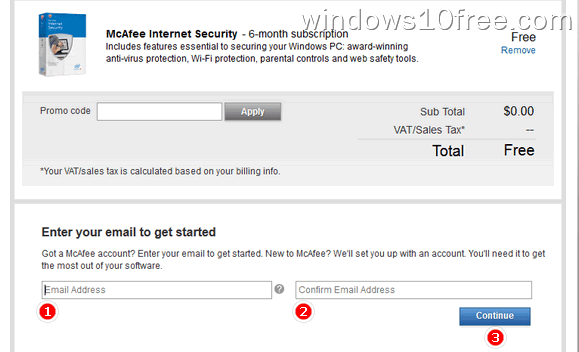 01 McAfee Internet Security 6 Month License Order 2