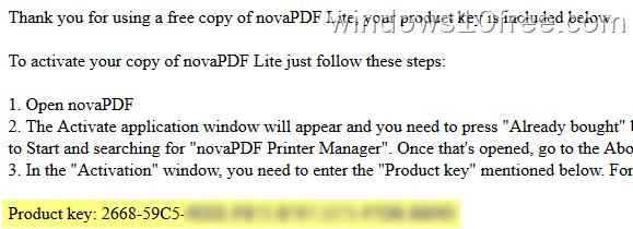 02 novaPDF Lite 8 Check EMail
