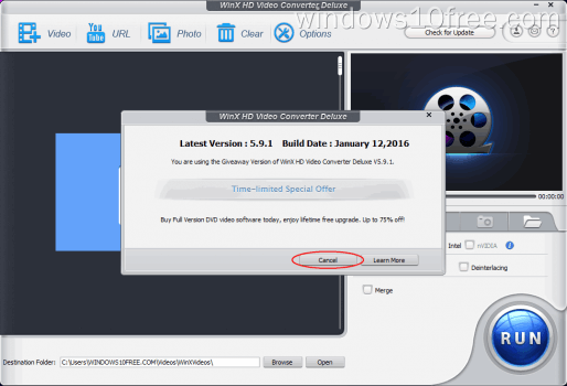 05 WinX HD Video Converter Deluxe Giveaway Version Info and Offer