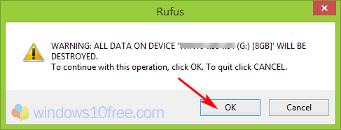 Step 6 Deletion Dialog Box