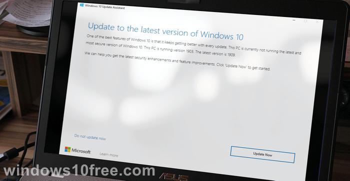 Windows 10 Assistant Update