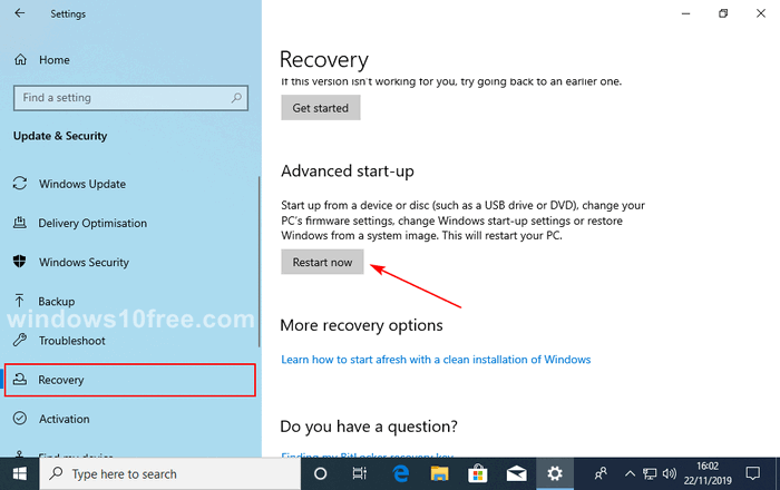 Windows 10 in Safe Mode Settings 02