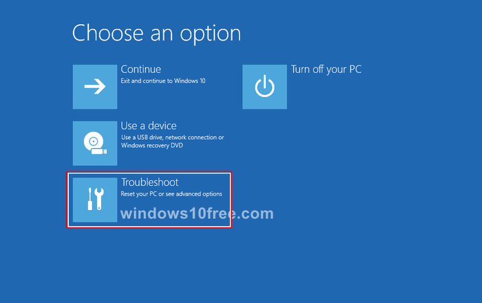 Windows 10 in Safe Mode Settings 03