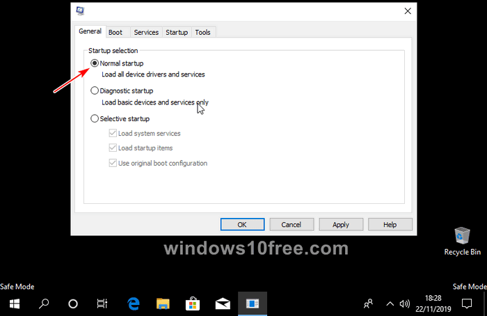 Windows 10 in Safe Mode Settings 09