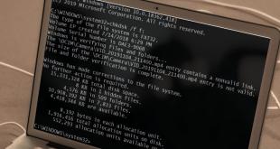 chdsk error 0x80070570 Process