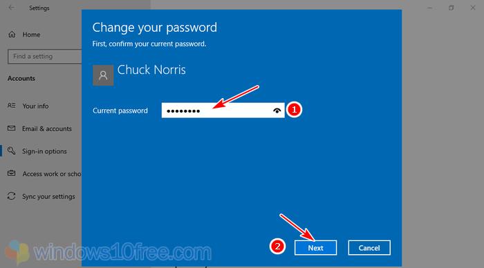 Change Password Enter Current Password 04