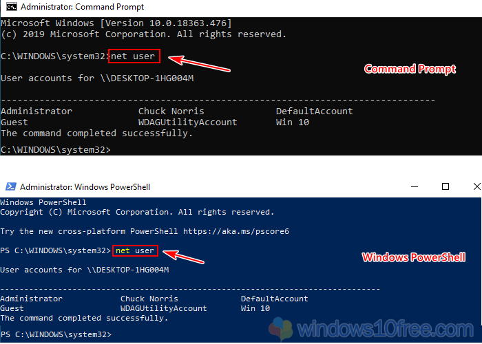 Change Password From Command Prompt 02