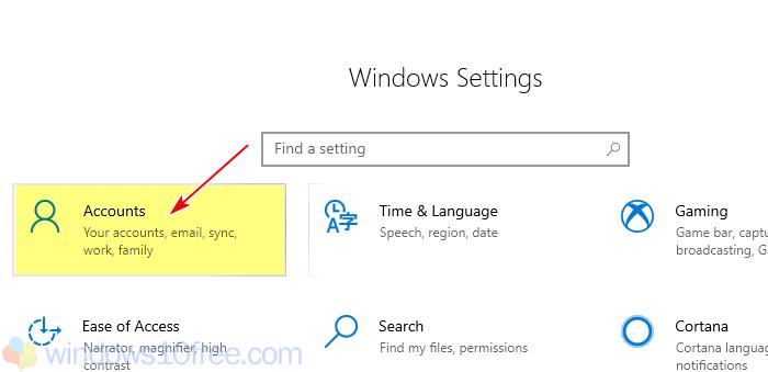 Change Password Windows Settings Select Account 02