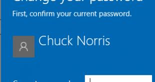 Windows 10 Change Password Featured
