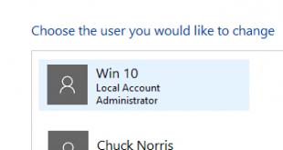 Windows 10 Change Username Featured